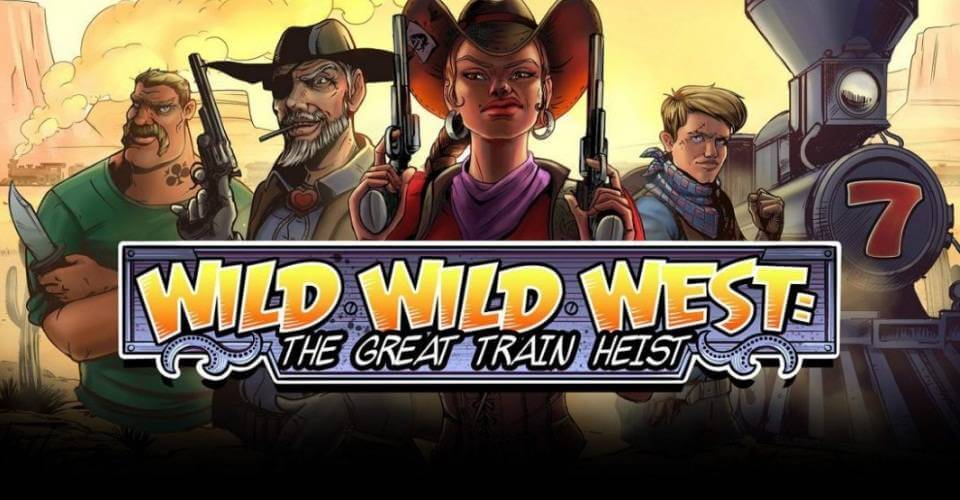 Игровой автомат Wild Wild West: The Great Train Heist ( NetEnt )